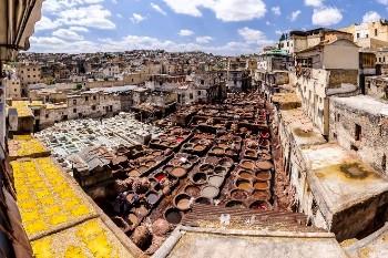 Neighborhood Moulay Abdellah -Fès -