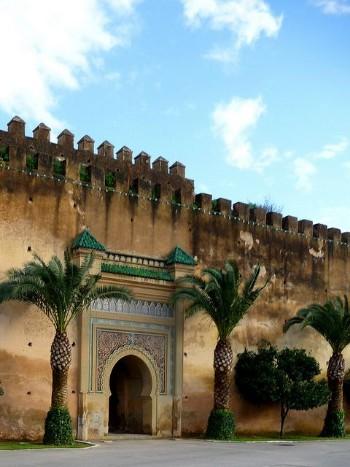 Les monuments de Meknès
