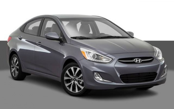 Hyundai accent automatique model 2016