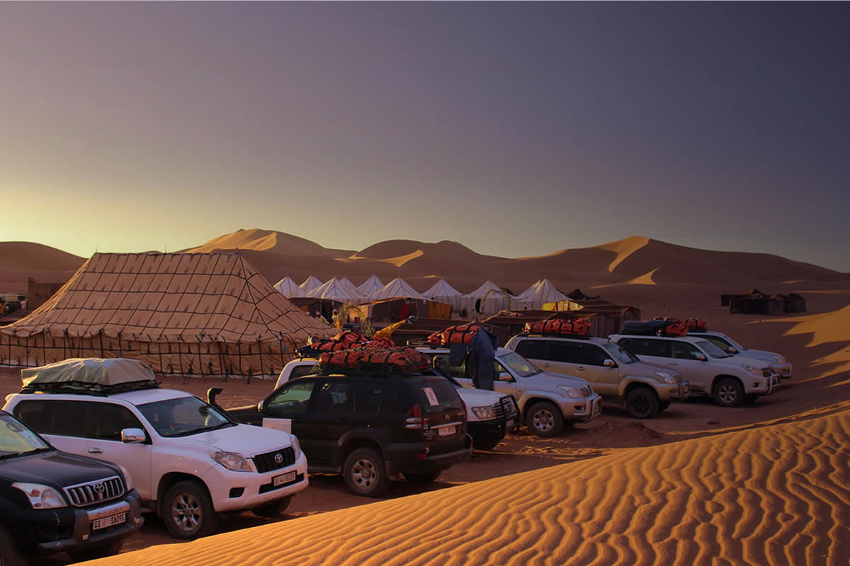 4x4 tours: In the footsteps of the Berbers and Nomads